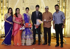 Feroz Vijayalakshmi Wedding Receptions Stills Part - 4_