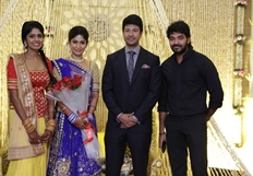Feroz Vijayalakshmi Wedding Reception Stills Part - 2
