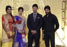 Feroz Vijayalakshmi Wedding Reception Stills Part - 2