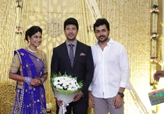 Feroz - Vijayalakshmi Wedding Reception Stills Part - 3