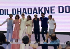Dil Dhadakne Do Team At Promotions With a Brunch