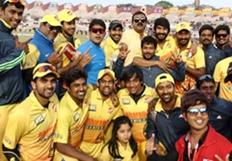 CCL 5 Mumbai Heroes Vs Chennai Rhinos Match Photos