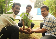 Green Initiative By Harris Jayaraj On His Birthday Stills