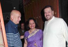 Aditya Chopra and Rani Mukherjee host party