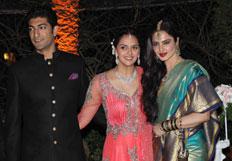 Ahana Deol weds Vaibhav Vohra