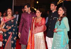 Ahana Deol pre-wedding sangeet ceremony