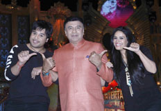 Launch of TV show Entertainment Ke Liye Kuch Bhi Karega
