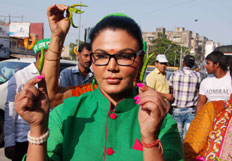 Rakhi Sawant election campaign