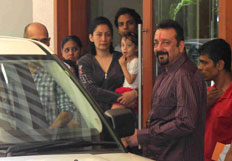 Sanjay Dutt leaves for jail