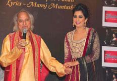 Shreya Ghoshal launch ghazal album Humnasheen