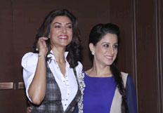 Sushmita Sen and Rouble Nagi co-host power luncheon for women