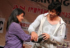 Actor Vidyut Jamwal trains women in self defence