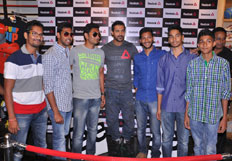 John Abraham spotted at Reebok Fit Hub Store  Jubilee Hills  Hyderabad