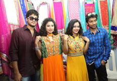 Nenu Naa Friends Team at Styles N Weaves Expo