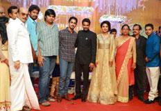 Director Vijay and Actress Amala Paul Reception images