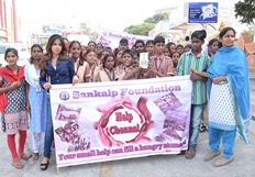 Sankalp Foundation Orphanage Kids with Manali Rathod for Mana Madras Cause