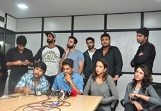 Tollywood Stars Mana Madras Kosam Press Meet Photos