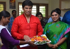 Actor Anandraj Birthday Celebration 2015 Photos