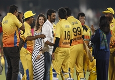 CCL 5 Semi Final1 Chennai Rhinos Vs Karnataka Bulldozers Match