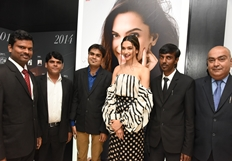 Deepika Padukone Launches Tissot Bella Ora in City