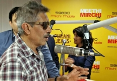 Jai Gangaajal Team At Meethi Mirchi Studio
