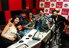 Kapoor & Sons Team At Fever 104 FM
