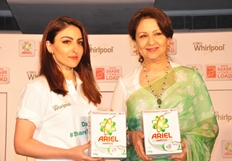Soha Ali Khan at Ariel Dads Share The Load Event