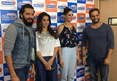 Riteish Deshmukh and Nargis Fakhri promote 'Banjo' at Radio City