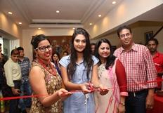 Neha Deshpande at Akritti Elite Exhibition Launch Photos
