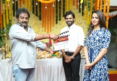 Sai Dharam Tej New Movie Opening Photos