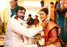 Bobby Simha - Reshmi Menon Wedding Images