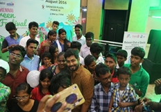 Actor Aari at Chennai Green Festival Photos
