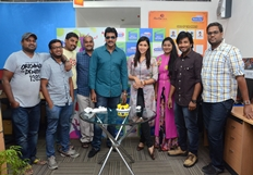 Jakkanna team at Radio City 91.1 FM