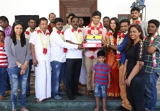 Jiiva & Nikki Galrani Movie Launch Photos