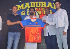Madurai Super Giants Press Meet Photos