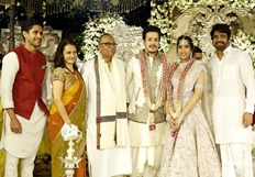 Nagarjuna's Son Akhil Gets Engaged To Shriya Bhupal