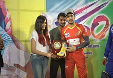 Garam Platinum Disc Function at CCL Match Stills