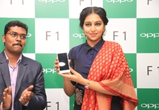 Actress Lakshmi Menon Launches Selfie Expert OPPO F1