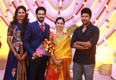 Actor Nakul - Sruthi Wedding Reception Photos