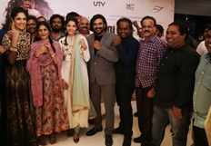 Celebrities at Irudhi Suttru Premiere Show