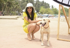 Adah Sharma For PETA On Carter Road Mumbai Photos