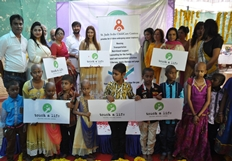Payal Ghosh Launches Touch A Life Foundation Photos