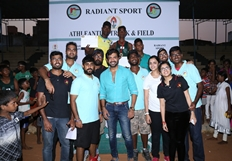 Actor Arun Vijay Distributed Medals & Certificates To The Champions Of Athleantics Track & Field 2016
