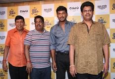 Kaththi Sandai Movie Trailer Launch Photos