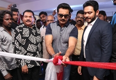 Sarathkumar Launches Flux Fitness & Spa Salon Photos