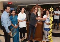 Simran Inaugurates Apollo Sugars Special Awareness Campaign Photos