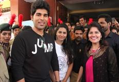 Allu Sirish @ St.Francis Inauguration Fest