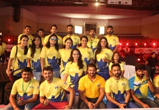 Celebrity Badminton League 4th match Inauguration