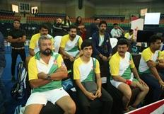 Celebrity Badminton League 4th match Inauguration