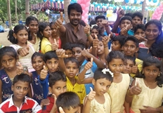 Raghava Lawrence Birthday Celebrations Photos